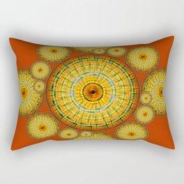 Copernicus, Descartes, and the Mayan Corn Calendar Rectangular Pillow