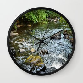 Clear Water Wall Clock
