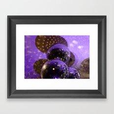 Disco Ball Framed Art Print