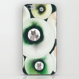 Lolo Whimsical Cats iPhone Skin