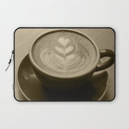 Cappuccino Heart Laptop Sleeve