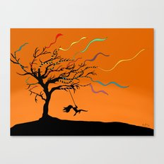 Among the Winds Canvas Print