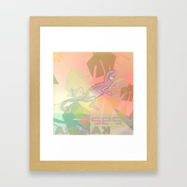 Esest Framed Art Print