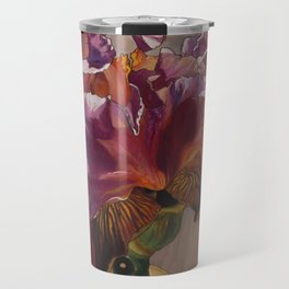 Sunkissed Pink Iris Travel Mug