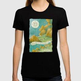 Moominvalley Map Interpretation (1/3) T-shirt