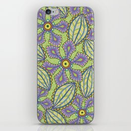 Jardin Loco iPhone Skin
