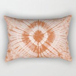 Earth Tone Shibori Tie Dye Rectangular Pillow