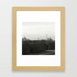 The Eiffel tower from afar Framed Art Print