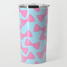 Bow Pattern - Pastel Travel Mug