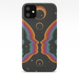 Rainbow Butterfly People iPhone Case