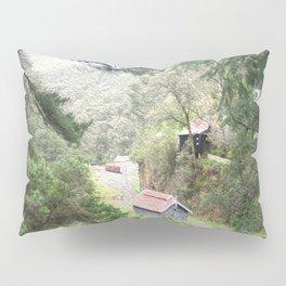 Restored Train Depot Pillow Sham
