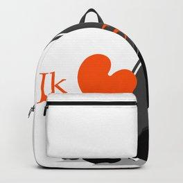 Ik hou van Skûtsjesilen Backpack