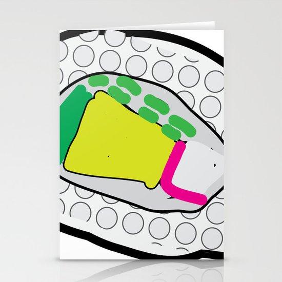 Sushi Stationery Cards