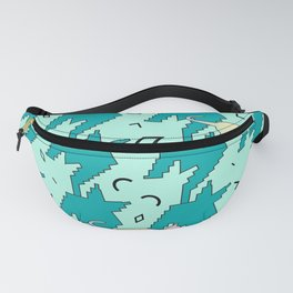 Houndstooth Cats From Memphis Fanny Pack