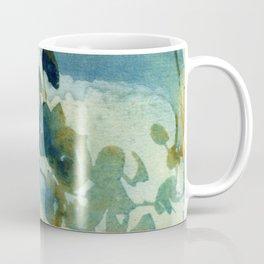 Abstract Shadows Cyanotype Coffee Mug