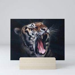 Roaring Tiger Mini Art Print