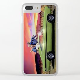 Dirty Mary Crazy Larry Clear iPhone Case