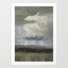 Tom Thomson - Landscape with Stormclouds - 1913 Art Print