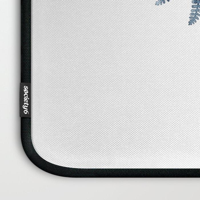 Indigo Fern 1 | Watercolour Painting Laptop Sleeve
