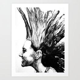 Laura Hawk Art Print