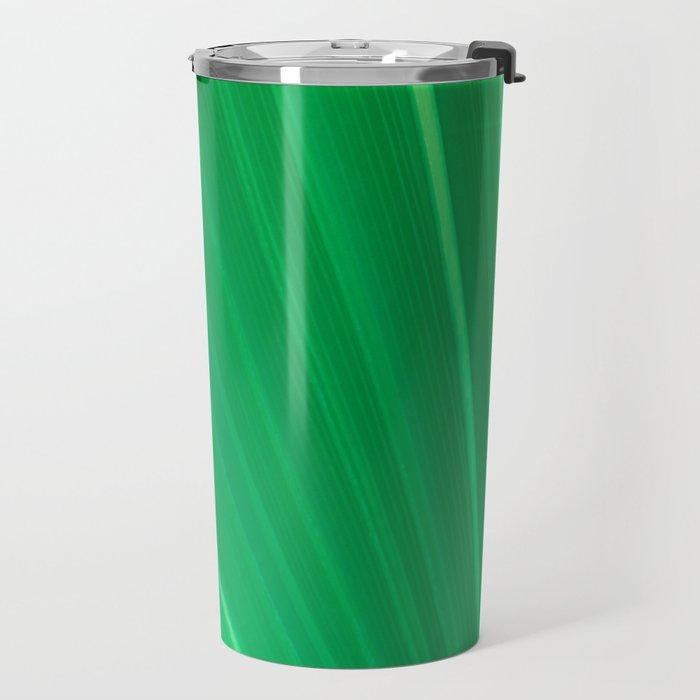 Palm Tree Leaf Travel Mug