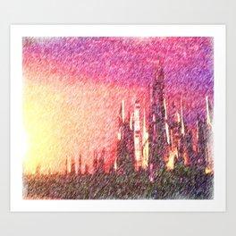 Alteran sunset Art Print