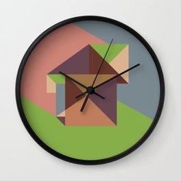 Poligonal 255 Wall Clock