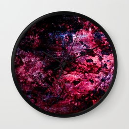 space-scape Wall Clock