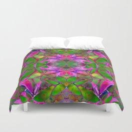 Floral Fractal Art G374 Duvet Cover