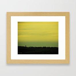 sunset3 Framed Art Print