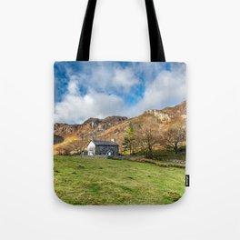 Crafnant Lake Cottage Tote Bag