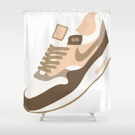 Flat Air Max Shower Curtain