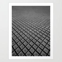 Diamond Texture Art Print