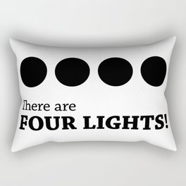 There are FOUR LIGHTS! Rectangular Pillow
