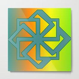 Pattern -ornament Metal Print