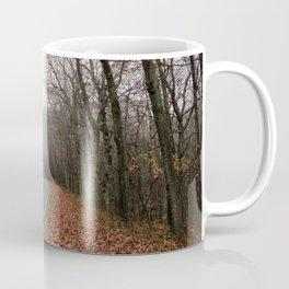 Foggy Fall Road Coffee Mug