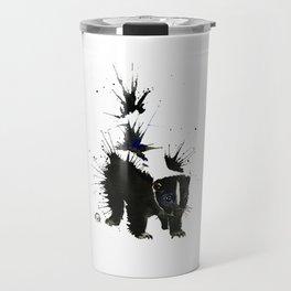Skunk - Ink Blot Travel Mug