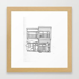Tokyo House 2 Framed Art Print