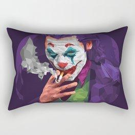 I Started a Joker Rectangular Pillow