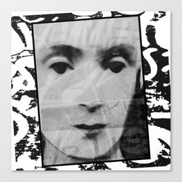 Visage Series: Untitled Face, Version 1 Canvas Print