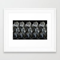 oakland Framed Art Prints featuring Oakland Cemetary by Sydney Morrow