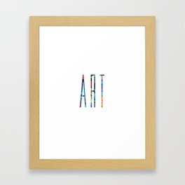 ART Framed Art Print