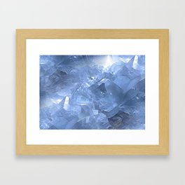Celestite Dream Framed Art Print