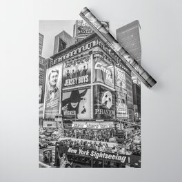 Times Square III Special Edition I (black & white) Wrapping Paper