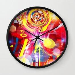 Christmas star Wall Clock