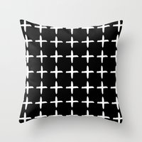 positive Throw Pillows featuring Positive by Dream Of Forest