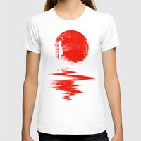 sun T-shirts featuring The Land of the Rising Sun by nicebleed