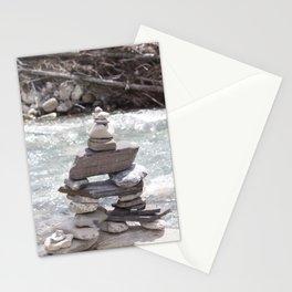Johnson Canyon Inukshuk Stationery Cards