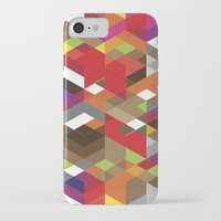 edm iPhone & iPod Cases featuring Life like a Geometry by Sitchko Igor