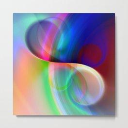 color whirl -20- Metal Print